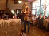 Николаю Валуеву подарили волка